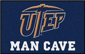 Fan Mats NCAA UTEP Texas Man Cave UltiMat