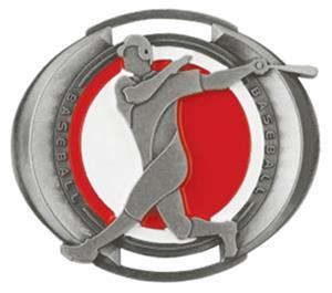 "Hasty Awards 3"" Halo Baseball Medals"
