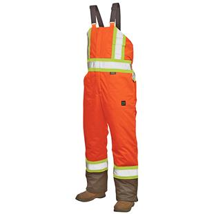 Work King Insulated Lined Safety Overall Bib