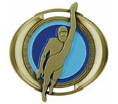 "Hasty Awards 3"" Halo Swimming Medals"