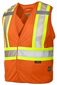 Work King 5-Point Tearaway Safety Vest (3 PK)