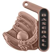 "Hasty Awards 2.25"" Prime Baseball Medals"