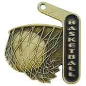 "Hasty Awards 2.25"" Prime Basketball Medals"