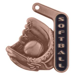 """Hasty Awards 2.25"""" Prime Softball Medals"""