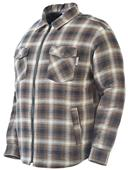 Work King Zip Front Flannel Jacket