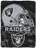 Northwest NFL Raiders Prestige Raschel Throw