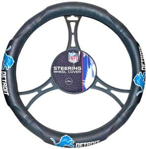 Northwest NFL Detroit Lions Steering Wheel Cover