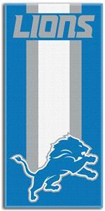 Northwest NFL Detroit Lions Zone Read Beach Towel