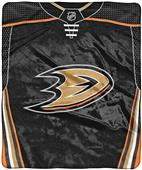 "Northwest NHL Anaheim Ducks ""Jersey"" Raschel Throw"