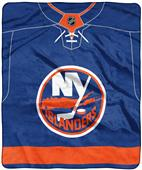 "Northwest NHL Islanders ""Jersey"" Raschel Throw"