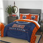 Northwest NHL Oilers Full/Queen Comforter & Shams