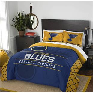 Northwest NHL Blues Full/Queen Comforter & Shams