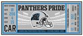 Fan Mats NFL Carolina Panthers Ticket Runner