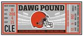 Fan Mats NFL Cleveland Browns Ticket Runner