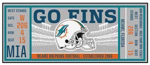 Fan Mats NFL Miami Dolphins Ticket Runner