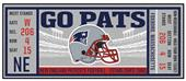 Fan Mats NFL New England Patriots Ticket Runner