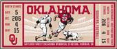 Fan Mats NCAA University of Oklahoma Ticket Runner