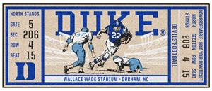 Fan Mats NCAA Duke University Ticket Runner