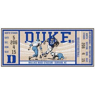 Fan Mats NCAA Duke University Ticket Runner