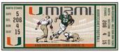 Fan Mats NCAA University of Miami Ticket Runner