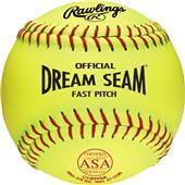 "Rawlings ASA 12"" Fastpitch Softballs - EACH"
