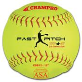 Champro ASA Tournament Fast Pitch Softballs EACH