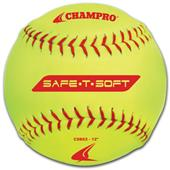 Champro Safe-T-Soft Yellow Softballs (EACH)