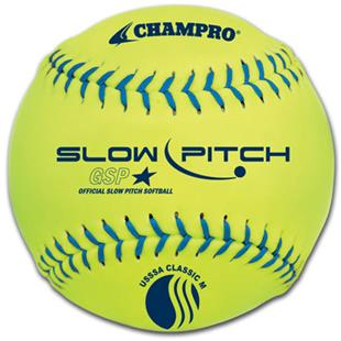 "12"" USSSA Slow Pitch Classic M Game Softball EACH"