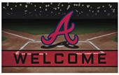 Fan Mats MLB Atlanta Braves Crumb Rubber Door Mat
