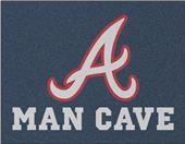 Fan Mats MLB Atlanta Braves Man Cave All-Star Mat