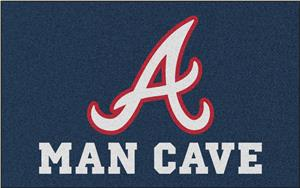 Fan Mats MLB Atlanta Braves Man Cave Ulti-Mat