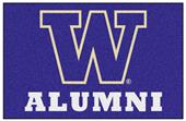 Fan Mats NCAA Washington Alumni Starter Mat