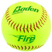 "Baden ASA FIRE Slowpitch 12"" Softballs (DZ)"