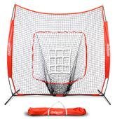 GoSports 7' x 7' Baseball Softball Hit/Pitch Net