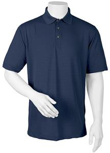 Paragon Adult Shadow Tone-on-Tone Stipe Polo