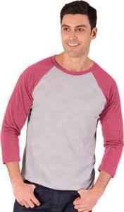 Blue Generation Adult 3/4 Triblend Baseball Tshirt