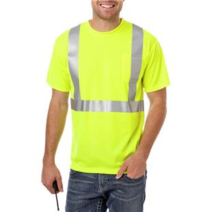 Blue Generation Adult Hi-Visibility Tee