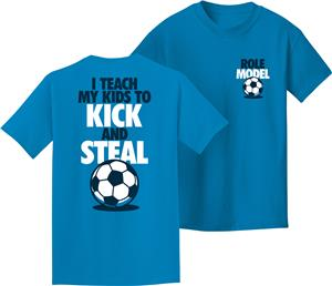 Utopia Adult Kick & Steal Soccer T-Shirt