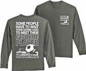 Utopia Adult Favorite Player L/S Soccer T-Shirt