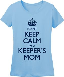 Utopia Womens Can't Keep Calm Keepers Mom T-Shirt