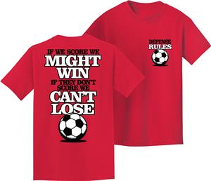 Utopia Adult/Youth Defense Rules Soccer T-Shirt