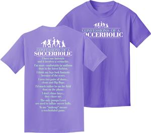 Utopia Adult/Youth Soccerholic T-Shirt