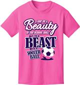 Utopia Adult/Youth Beauty Beast Soccer T-Shirt