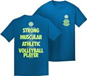 Utopia I Would Rather Volleyball T-Shirt