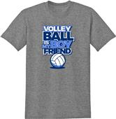 Utopia Volleyball Is My Boyfriend T-Shirt