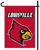 Collegiate Louisville 2-Sided Garden Flag