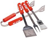 Collegiate Nebraska Cornhuskers 4-Piece BBQ Set