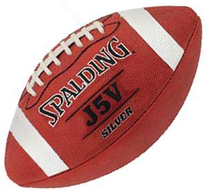 Spalding J5V Silver NFHS Footballs