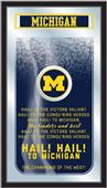 Holland University of Michigan Fight Song Mirror