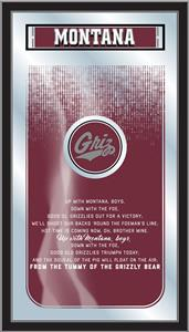 Holland University of Montana Fight Song Mirror